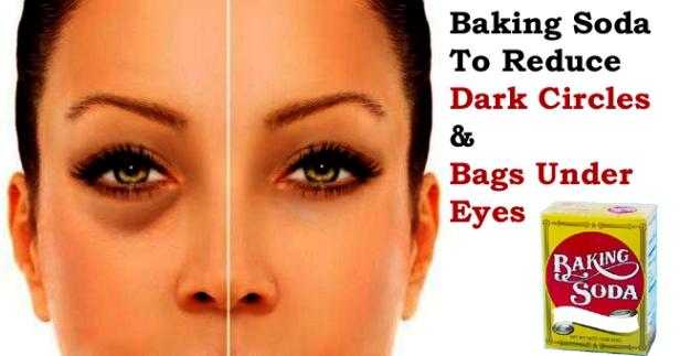 Baking Soda For Eye Bags and Dark Circles Under Eyes